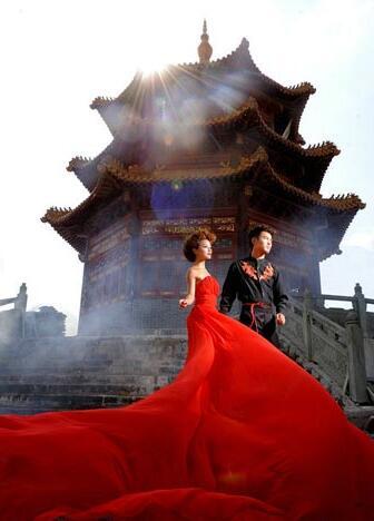 凤舞抠像素材山水素材