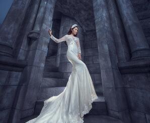 一月婚纱照客片